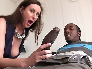 Babe, Big Black Cock, Big Cock, Black, Blowjob, Brunette, Cheating, Cowgirl, Cum Swallowing, Deepthroat,