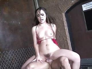 Brunette, Couple, Gorgeous, Handjob, Hardcore, Kristina Rose, Long Hair, Natural Tits,