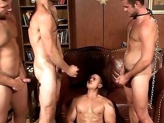 Bound, Fucking, Group Sex, HD, Jock, Riding, Submissive,
