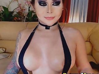 Cute, Jerking, Seduction, Sexy, Shemale, Tranny,