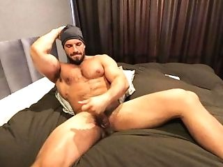 Amateur, Cum, Cumshot, Dick, Hairy, Hunk, Muscular, Sexy, Solo, Striptease,