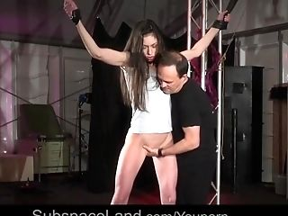 BDSM, Bondage, Dildo, Fetish, Masturbation, Pain, Submissive, Vibrator,
