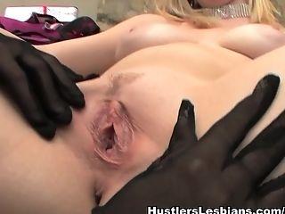 Amazing, Big Tits, Blonde, Brunette, Cunnilingus, Dildo, Fingering, Lesbian, Pornstar, Rylie Richman,