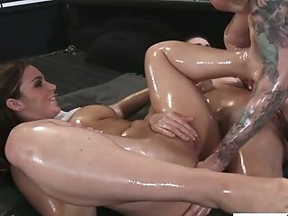 Beauty, Brunette, Cute, FFM, Hardcore, Horny, Natasha Nice, Pick Up, Slut, Threesome,