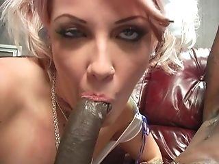 Black, Candy Monroe, Couple, Cuckold, Doggystyle, Hardcore, High Heels, Hunk, Interracial, Licking,