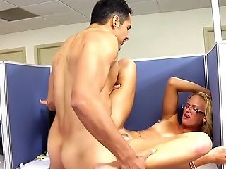 Blowjob, Boobless, Close Up, Couple, Cowgirl, Dick, Doggystyle, Glasses, Hardcore, Jc Simpson,