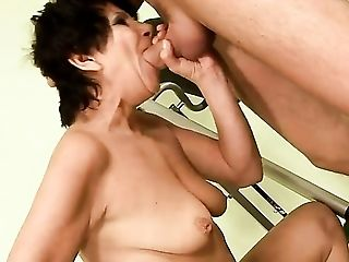 Blowjob, Fetish, GILF, Granny, Gym, Hardcore, Mature, Old And Young, Pornstar, Socks,