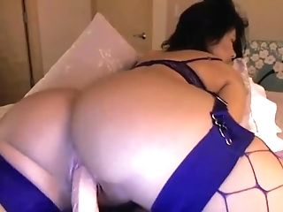 Ass, Bra, Cum, Cute, Fishnet, Lingerie, Masturbation, Model, Natural Tits, Pussy,