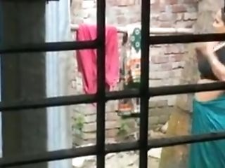 Bathroom, Big Tits, Captive, Hidden Cam, Indian, Outdoor, Softcore, Topless, Voyeur,