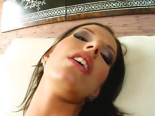 Babe, Blowjob, Cum Swallowing, Hardcore, HD, Natural Tits, Olga Winter, Teen,