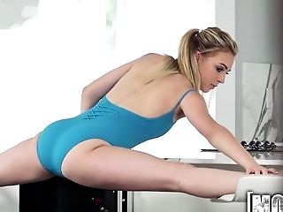 Amateur, Ass, Ballerina, Blonde, Blowjob, Boobless, POV, Skinny, Teen,