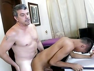 Anal Sex, Asian, Bareback, Blowjob, Brunette, Caucasian, Couple, Daddies, Ethnic, Hairy,