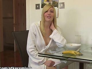 Tolle, Große Titten, Blond, Beim Casting, Jessica Jensen, Pornostar, Softcore, Solo,