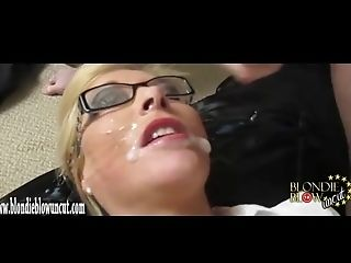 Blonde, Cum In Mouth, Cum Swallowing, Cumshot, Facial, Horny, Slut, Uncut,