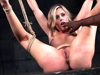 BDSM, Black, Blonde, Bondage, Fetish, Submissive, Torture,
