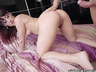 Babe, Big Ass, Boobless, MILF, Nacho Vidal, Natural Tits, Redhead, Squirting, Stockings,