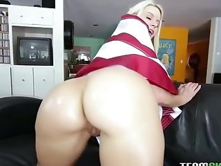 Anikka Albrite, Babe, Big Ass, Blonde, Blowjob, Boots, Doggystyle, Hardcore, HD, Natural Tits,