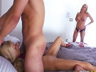 Best Friend, Big Cock, Blonde, Cowgirl, Doggystyle, Face Fucking, FFM, Fingering, Fuckdoll, Hardcore,