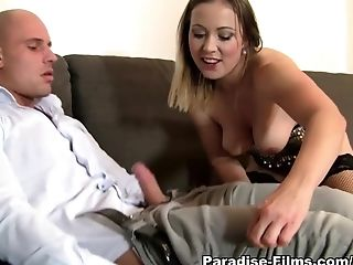 Bibi Fox, Big Ass, Big Tits, Cinema, Cumshot, European, Horny, Melanie Crush, Pornstar, Stockings,