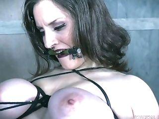Ass, BDSM, Big Tits, Bold, Bondage, Boots, Brunette, Dildo, Iona Grace, Master,
