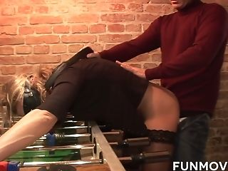 Ass, BDSM, Big Tits, Blindfold, Blonde, Blowjob, Bondage, Boots, Cumshot, Deepthroat,