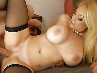 Ass, Ass Licking, Ball Licking, Balls, Big Ass, Big Cock, Big Nipples, Big Tits, Blonde, Blowjob,