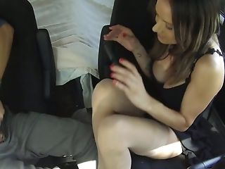 Babe, Beauty, Big Tits, Cumshot, Foot Fetish, Footjob, Handjob, Nadia Styles, Public, Reality,