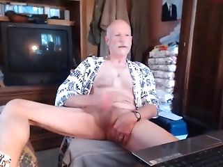 Amateur, Cum Tributes, Daddies, Grandpa, HD, Jerking, Masturbation,
