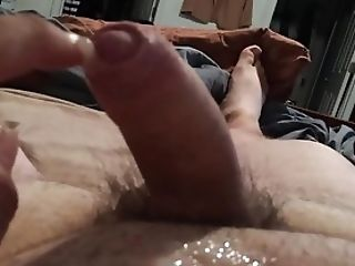 Amateur, Bear, Close Up, Cum, Dick, Fat, HD, Masturbation, Uncut,