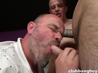 Anal Sex, Bareback, Blowjob, HD, Old, Old And Young, Pissing, Small Cock, Stepdad, Threesome,