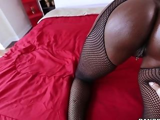 Babe, Big Ass, Big Tits, Black, Blowjob, Cumshot, Deepthroat, Diamond Jackson, Facial, Fishnet,