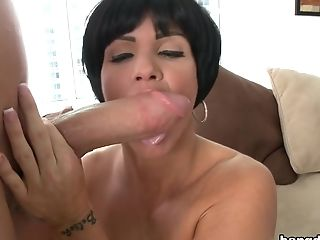 Big Ass, Blowjob, Brunette, Creampie, Handjob, Hardcore, HD, MILF, Mom, Shay Fox,