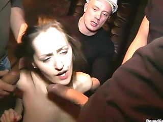 BDSM, Braces, Captive, Double Penetration, Gangbang, Group Sex, Princess Donna, Russian,