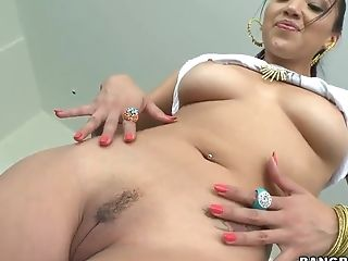 All Holes, Anal Sex, Babe, Boobless, Brunette, Ethnic, Gaping Hole, HD, Vicki Chase,