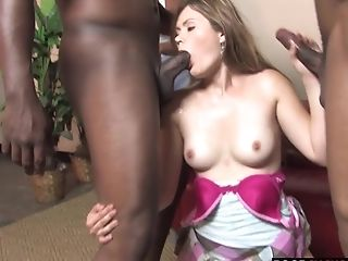 Big Cock, Cuckold, Interracial, Marina Maywood, Threesome, Wife,