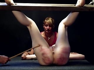 BDSM, Blonde, Bondage, Caning, Fetish, Girlfriend, Spanking, Torture,
