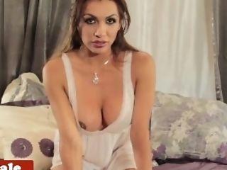 Beauty, Big Ass, Big Tits, Close Up, Dick, Fetish, Jerking, Lingerie, Masturbation, Mistress,