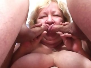 Blowjob, Granny, HD, Mature, Old, Old And Young, Reality, Threesome,