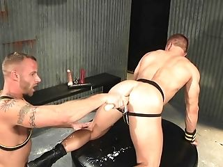 Ass Fingering, Couple, Hardcore, Horny, Muscular, Sex Toys,