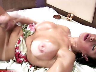 Big Natural Tits, Jerking, Moaning, Shemale,