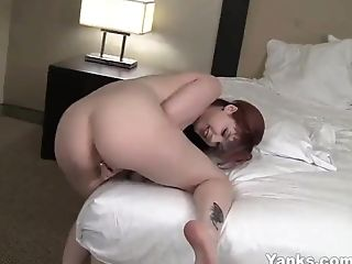 Amateur, Babe, Female Orgasm, HD, Jerking, Masturbation, Redhead, Solo,