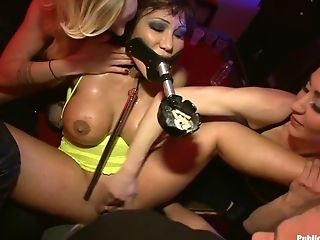 Anal Sex, Ava Devine, Bar, Double Anal, Double Penetration, Fisting, Gangbang, Public,